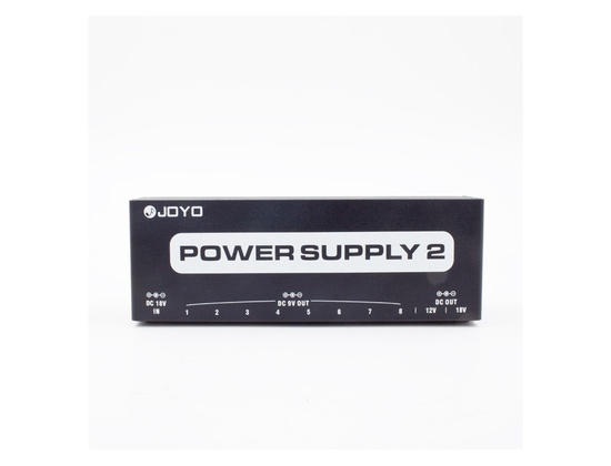 JOYO Power Supply 2 JP-02 Isolated Effect Pedal Multi Brick