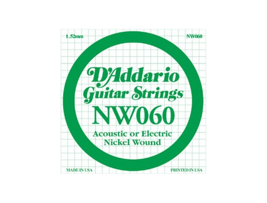 D'Addario NW060 Guitar Strings