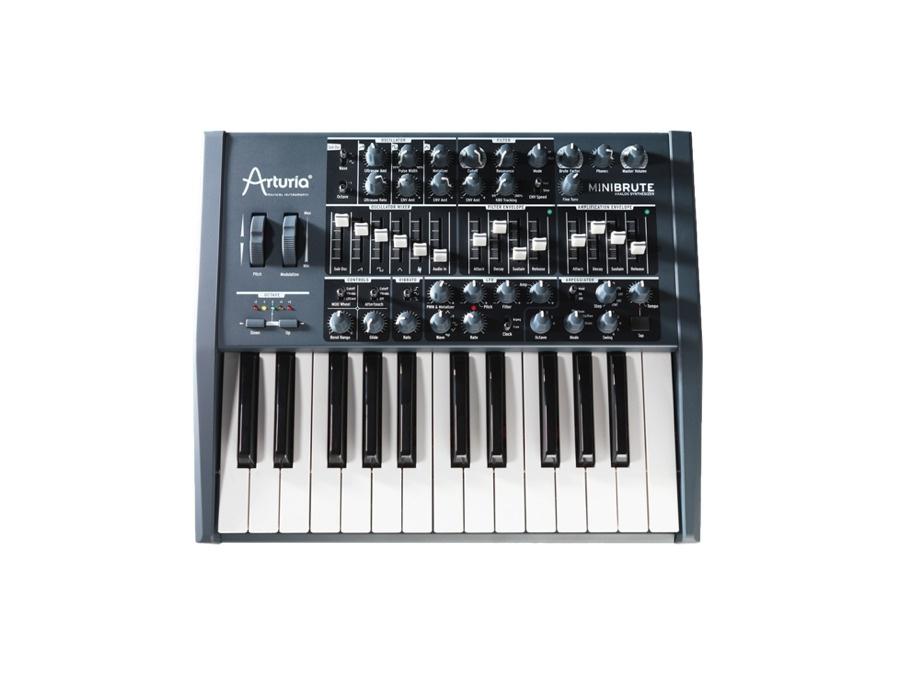 Arturia minibrute analog synthesizer xl