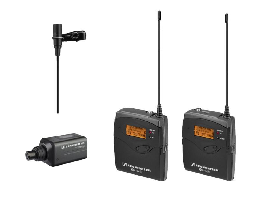 Sennheiser ew 100-ENG G3 Wireless Clip-On Lavalier Microphone Set