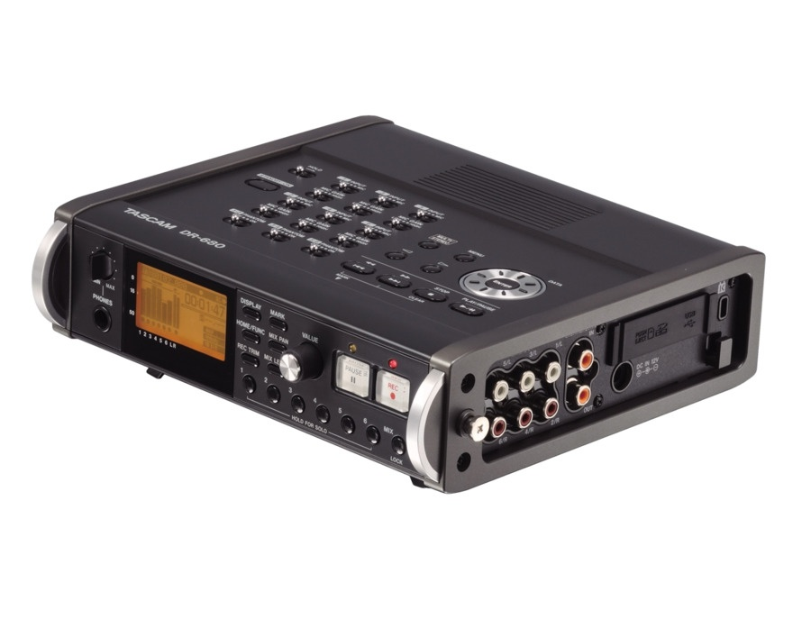 Tascam DR680 8-track Portable Digital Field Audio Recorder