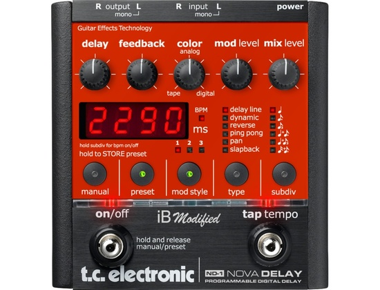 TC Electronic ND-1 Nova Delay iB modified