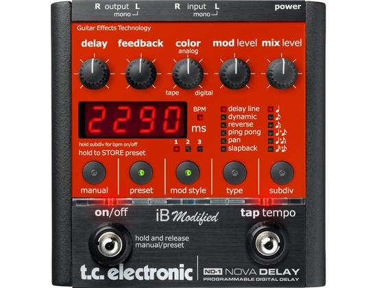 TC Electronic ND-1 Nova Delay iB modified