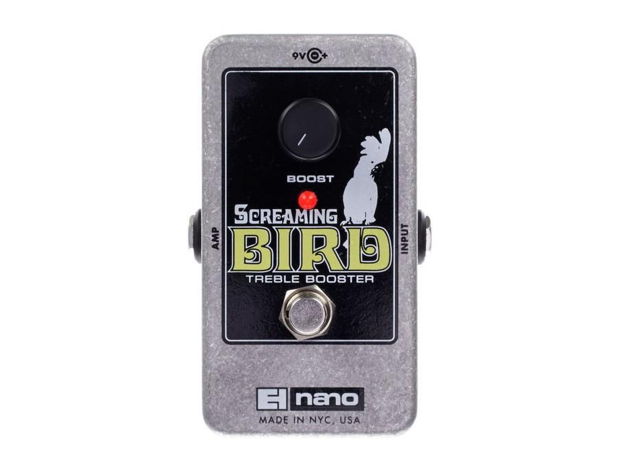 Electro-Harmonix Screaming Bird Treble Booster Guitar Effects Pedal