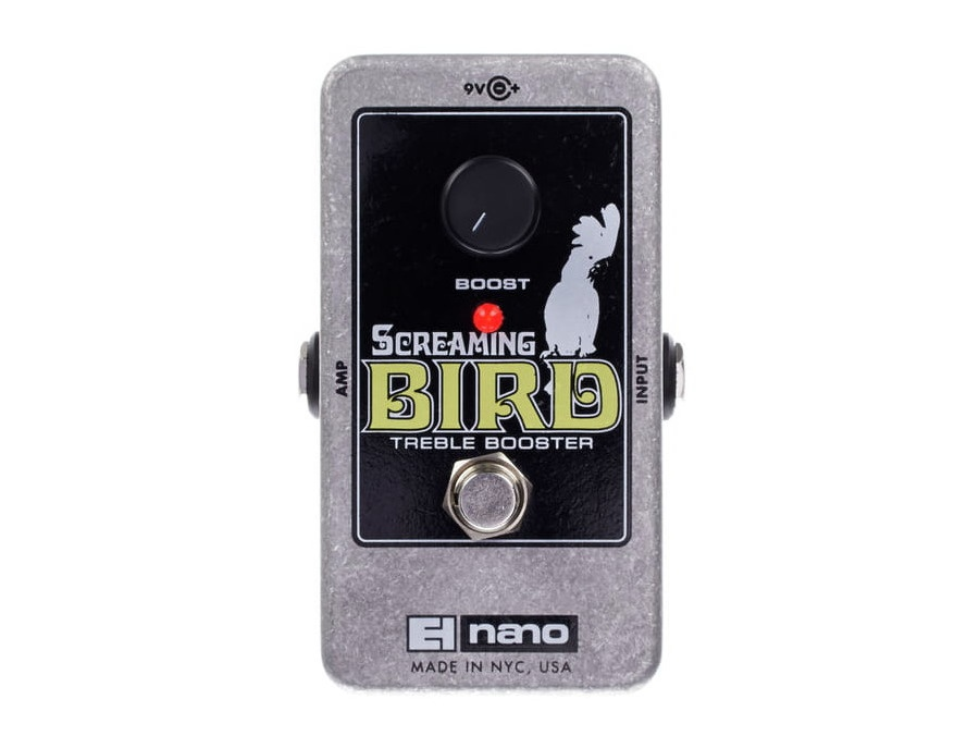 ruban nielson 39 s electro harmonix screaming bird treble booster guitar effects pedal equipboard. Black Bedroom Furniture Sets. Home Design Ideas