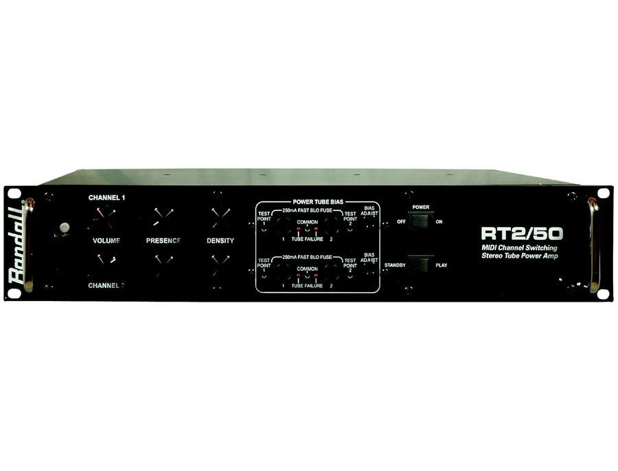 Randall rt2 50 power amp xl