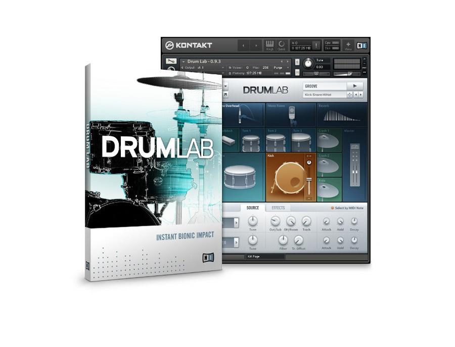 Native instruments drumlab xl