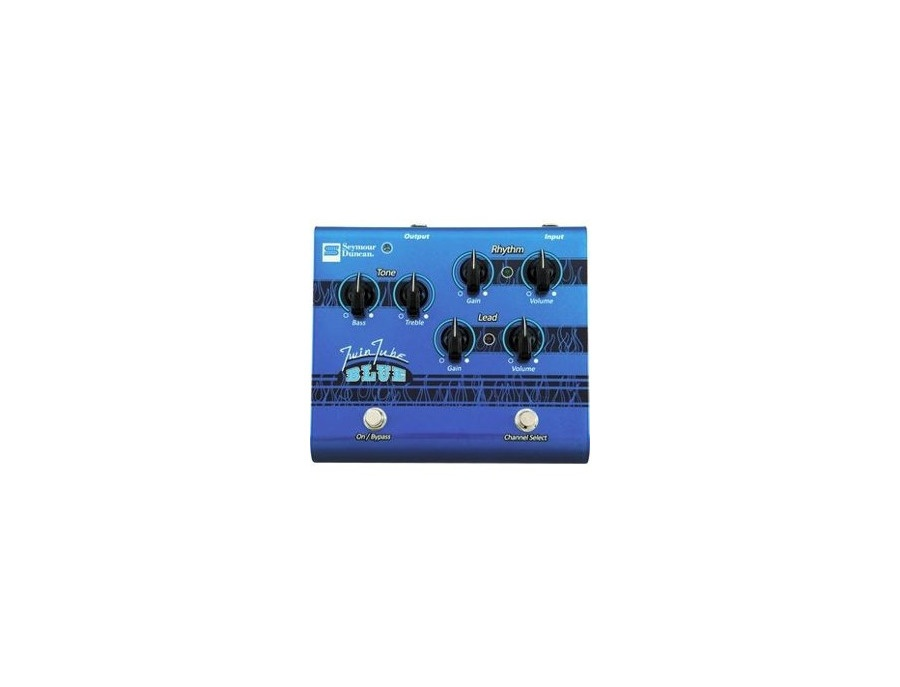 Seymour Duncan SFX-11 Twin Tube Blue Distortion Guitar Effects Pedal