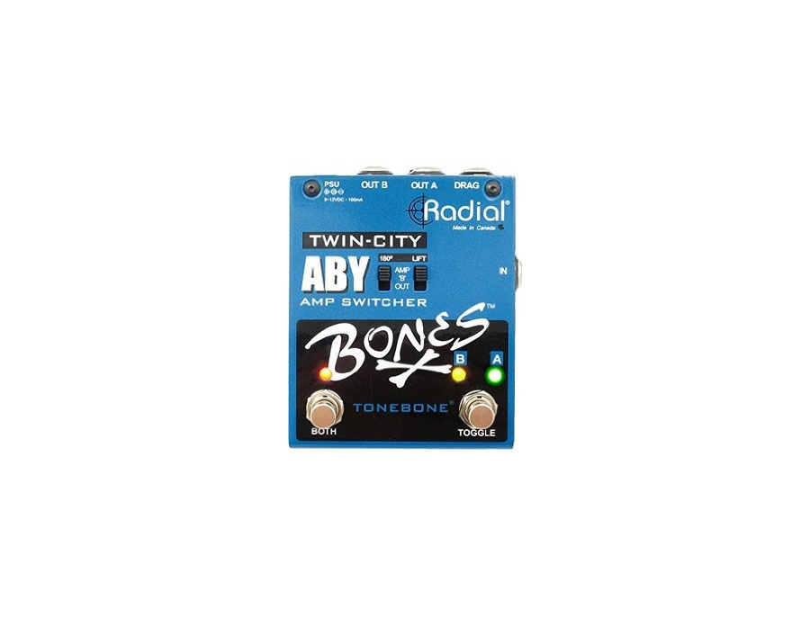 Tonebone Bones Twin-City ABY Guitar Effects Switcher
