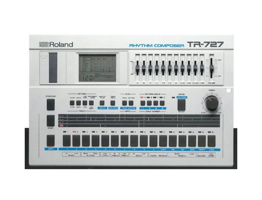 Roland tr 727 rhythm composer xl