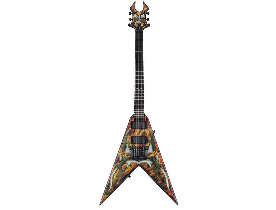 B c rich kerry king signature v generation 2 guitar xl