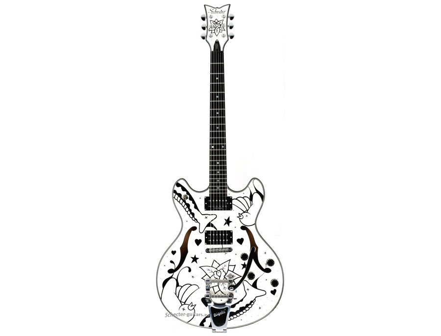 schecter porl thompson corsair bigsby electric guitar reviews  u0026 prices