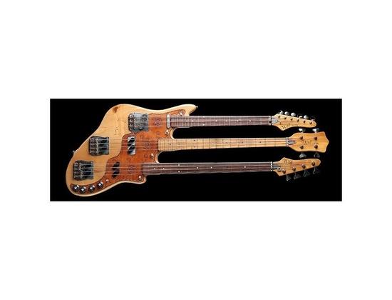 Kid's Guitars Bob Wal Triple-Neck Bass Replica