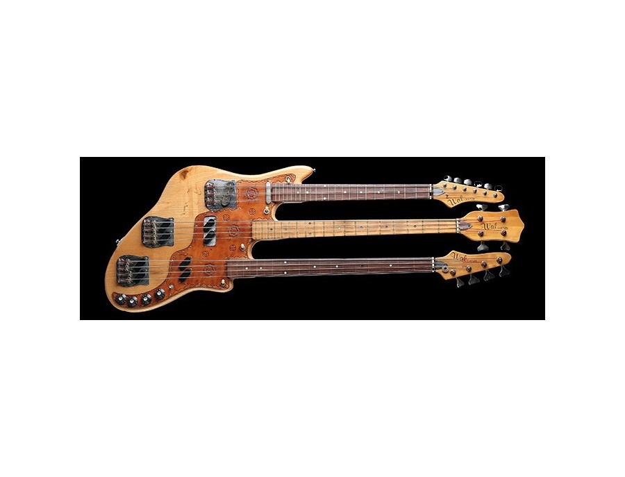Kid's Guitars Bob Wal Triple-Neck Bass Replica