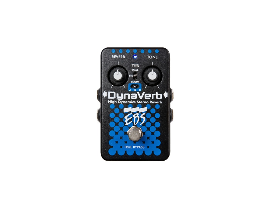 EBS DynaVerb High Dynamics Stereo Reverb Pedal