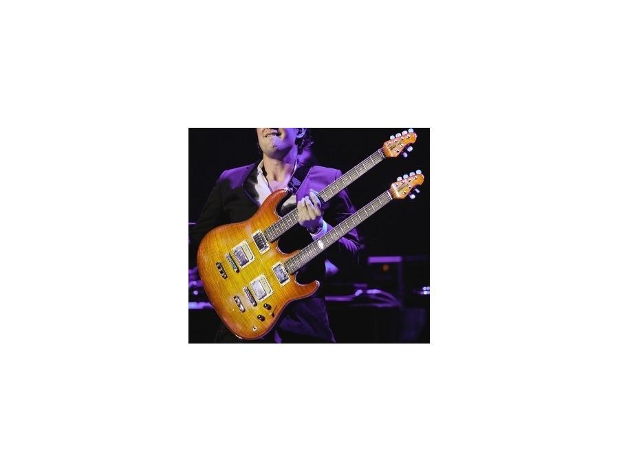 Joe Bonamassa's Custom Ernie Ball Music Man Ball Family Reserve Double-Neck Electric Guitar