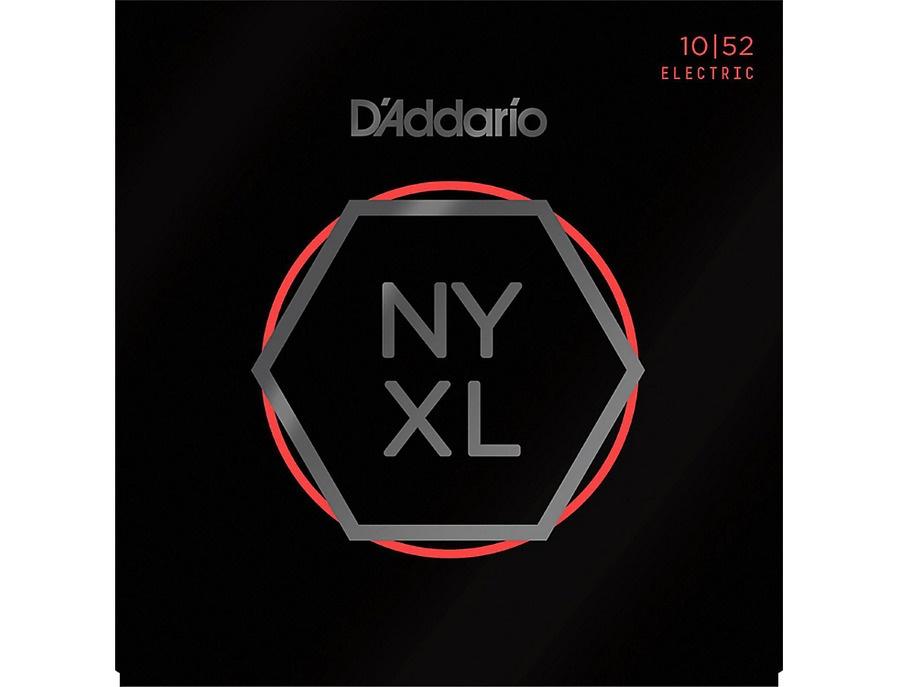 D'Addario NYXL Nickel Wound Light Top/Heavy Bottom Electric Guitar Strings (10-52)
