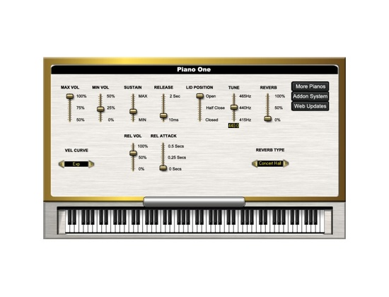 Sound Magic Piano One