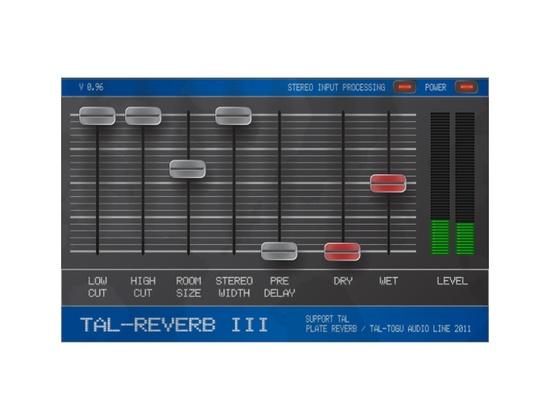 TAL-Togu Audio Line TAL Reverb III