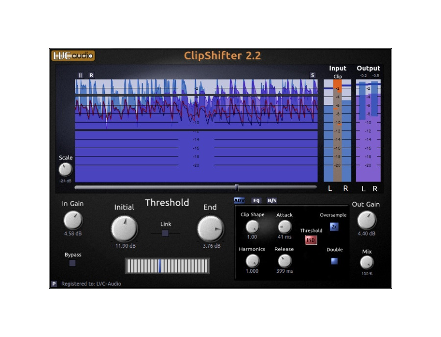 Lvc audio clipshifter xl