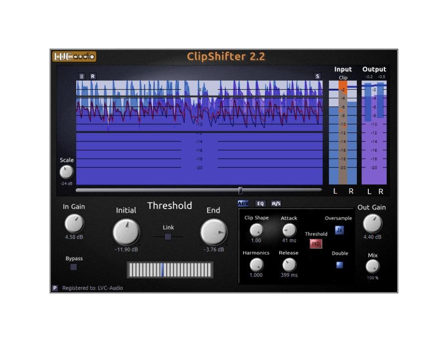 Lvc audio clipshifter xl