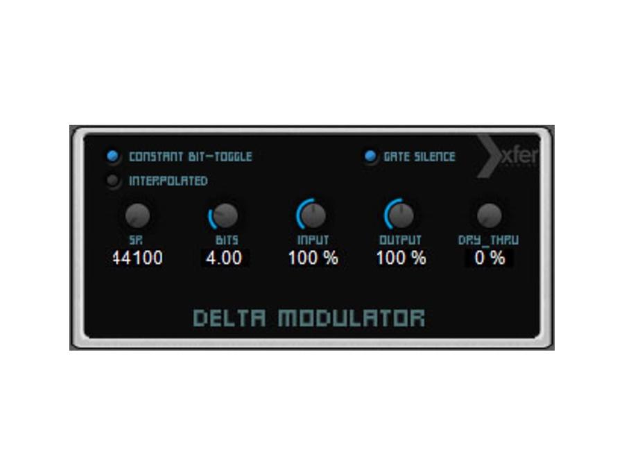 Xfer Records DeltaModulator
