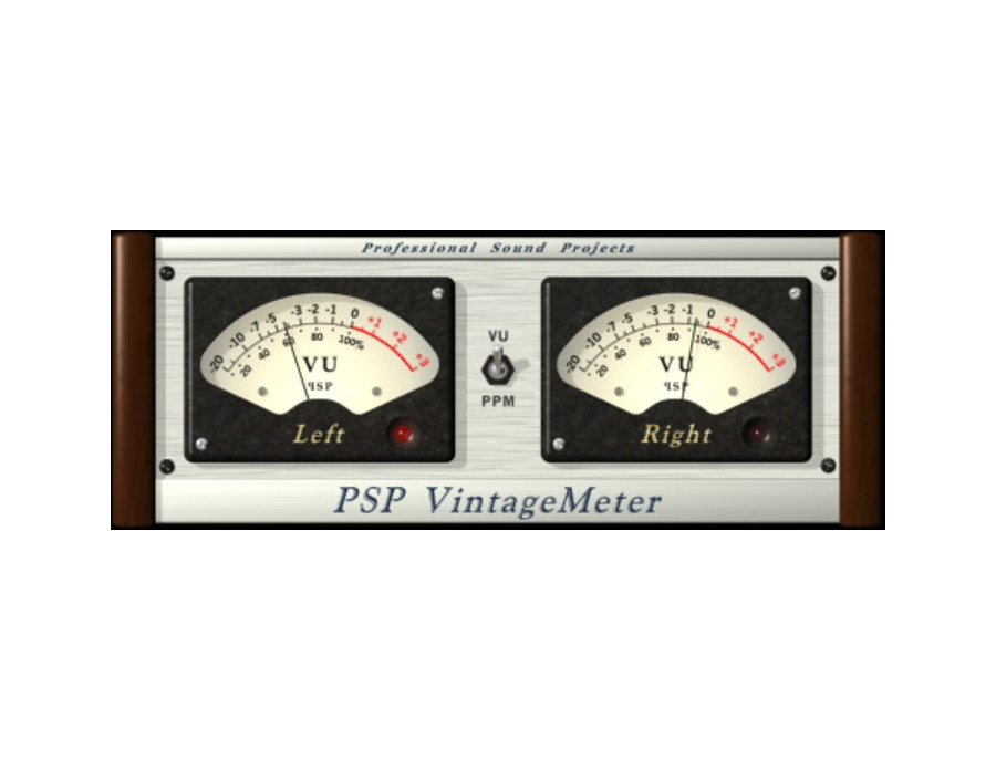 PSPaudioware PSP VintageMeter