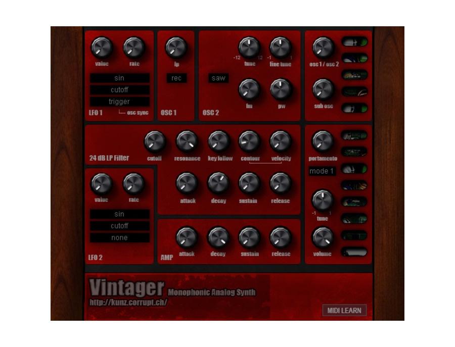 TAL-Togu Audio Line TAL-Vintager