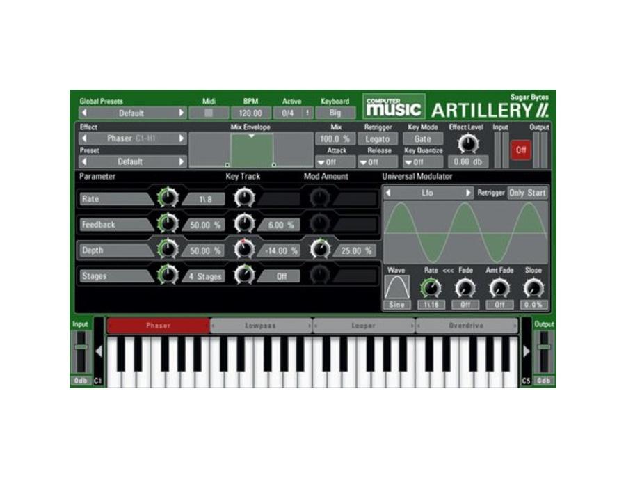 Sugar Bytes Artillery II Computer Music Edition