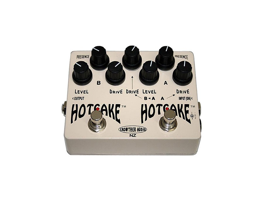 Crowther Double Hotcake Overdrive Effects Pedal