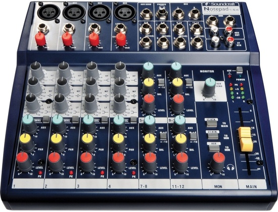 Soundcraft Notebook 124 mixer