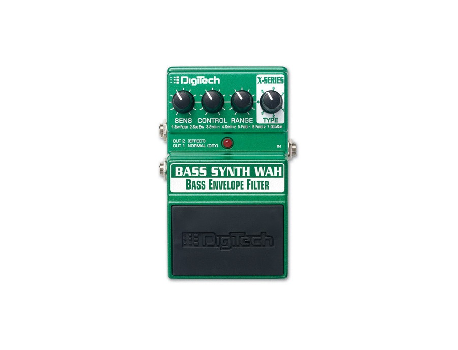 Digitech bass synth wah envelope filter xl