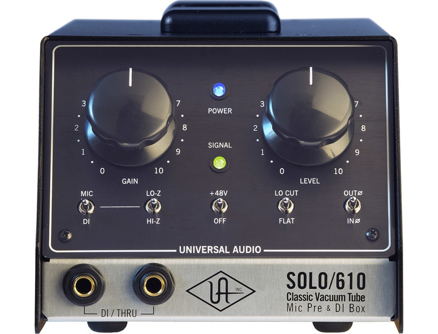 Universal Audio SOLO/610 Tube Preamp