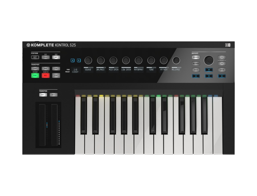 Native Instruments Komplete Kontrol S25