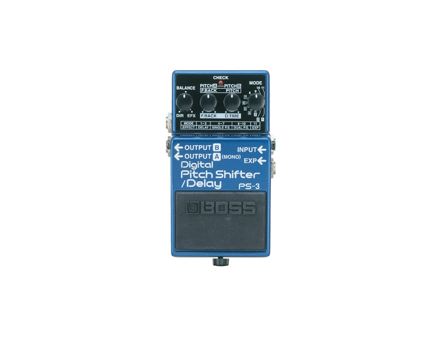 Boss ps 3 pitch shifter delay xl