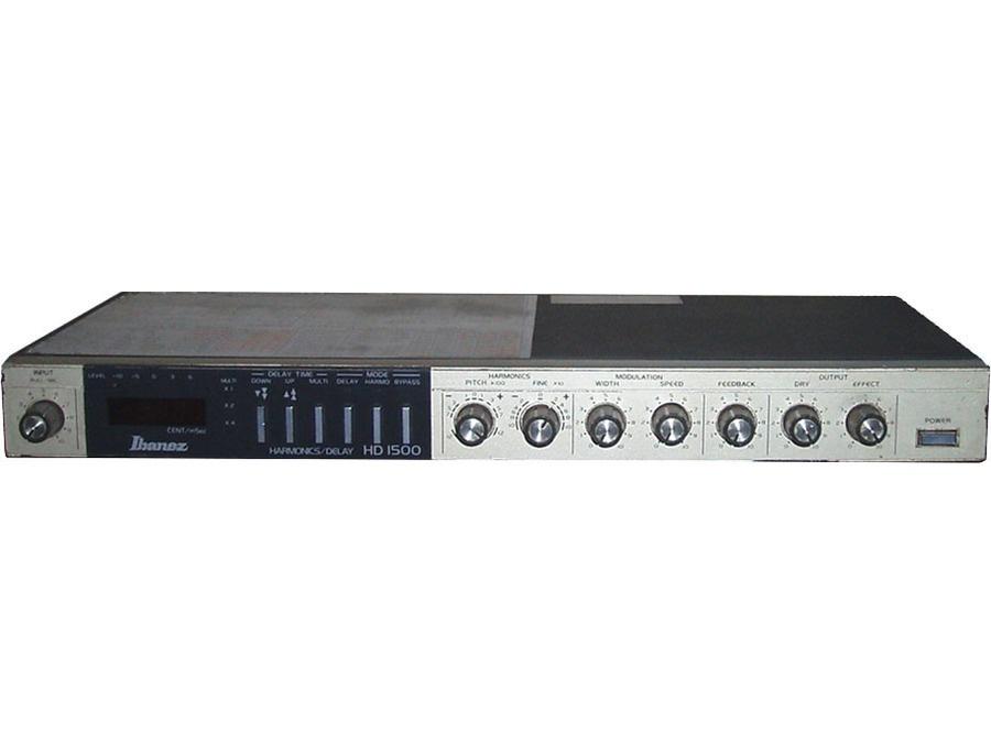 Ibanez hd1500 harmonics delay rack mount xl