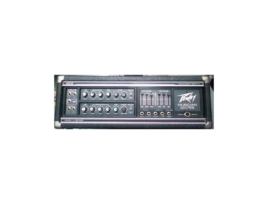 Peavey Musician Mark III Amplifier Head