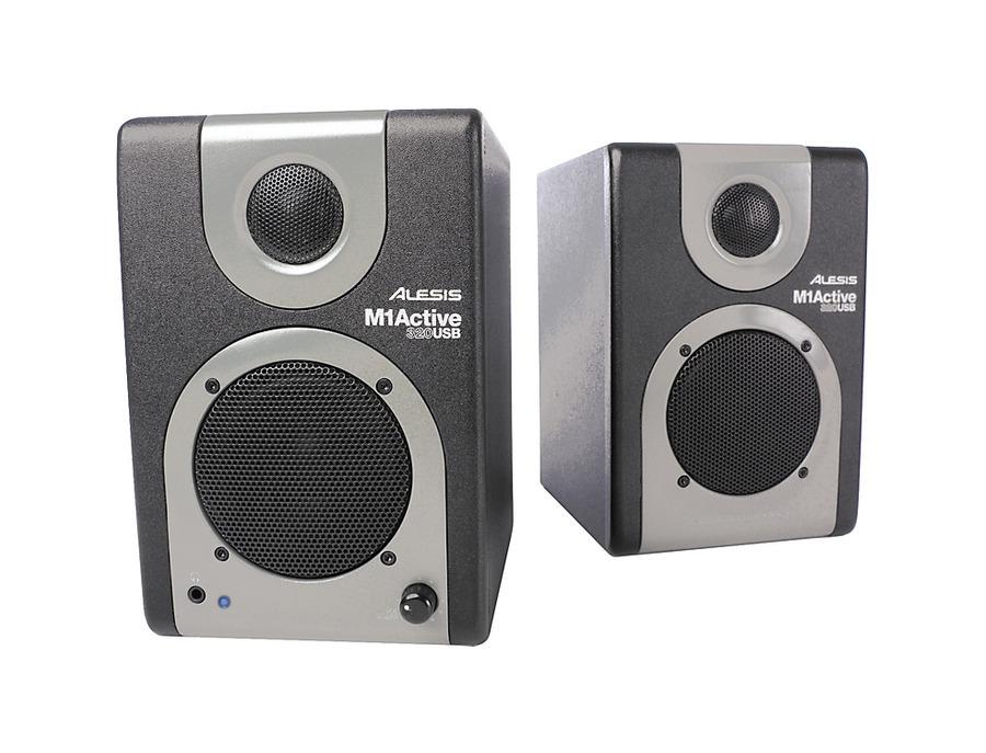 Alesis m1 active 320 usb studio monitor pair xl