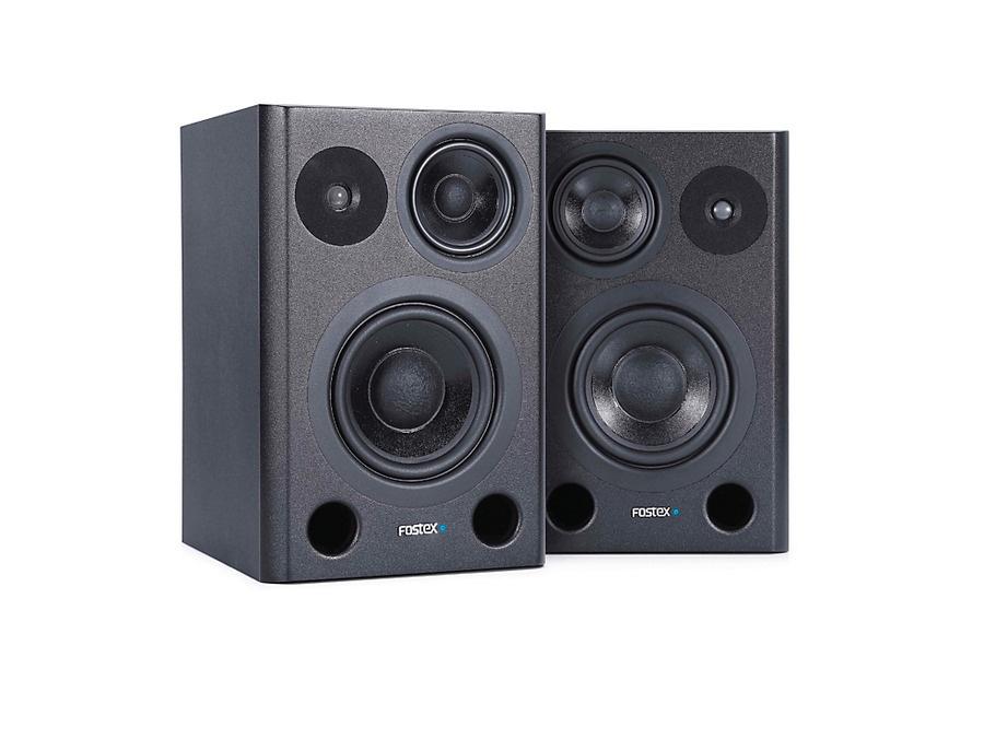 Fostex pm6 4 1 6 3 way studio montior pair xl