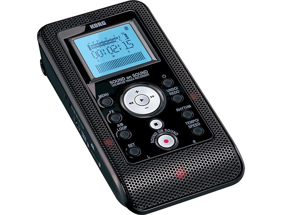 Korg Sound on Sound SR1 Unlimited Track Recorder