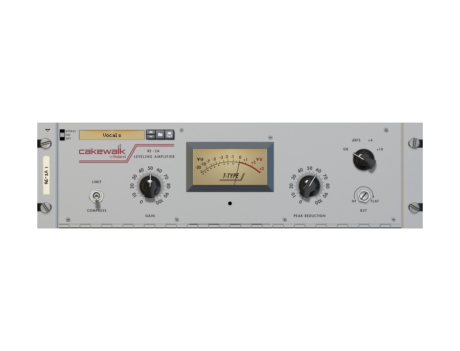 Cakewalk re 2a leveling amplifier xl
