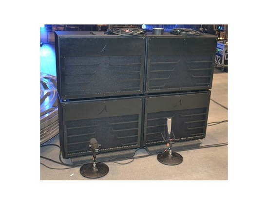 Keith Urban's Custom WhiteBox Engineering 2x12 Cabinets