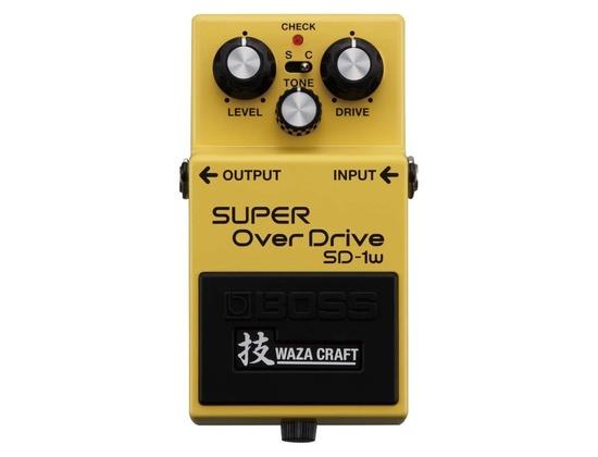 BOSS SD-1W Super OverDrive Waza Craft Pedal