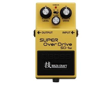 Boss SD-1W Super OverDrive Waza Craft