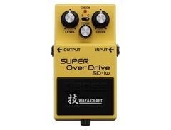 Boss sd 1w super overdrive waza craft pedal s