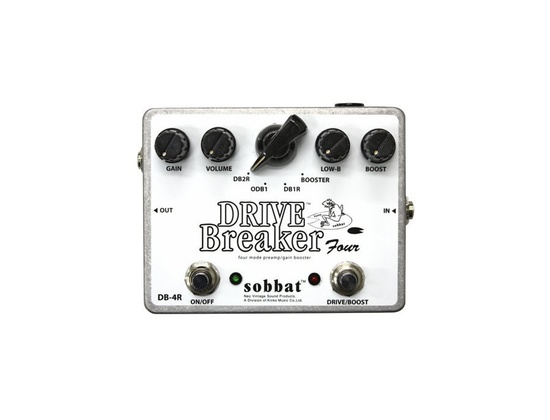 Drive Breaker Distortion Effects Pedal