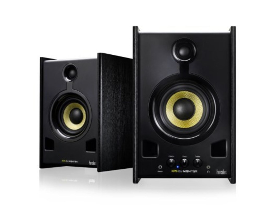 Hercules XPS 2.0 80 DJ Monitor Speakers Pair