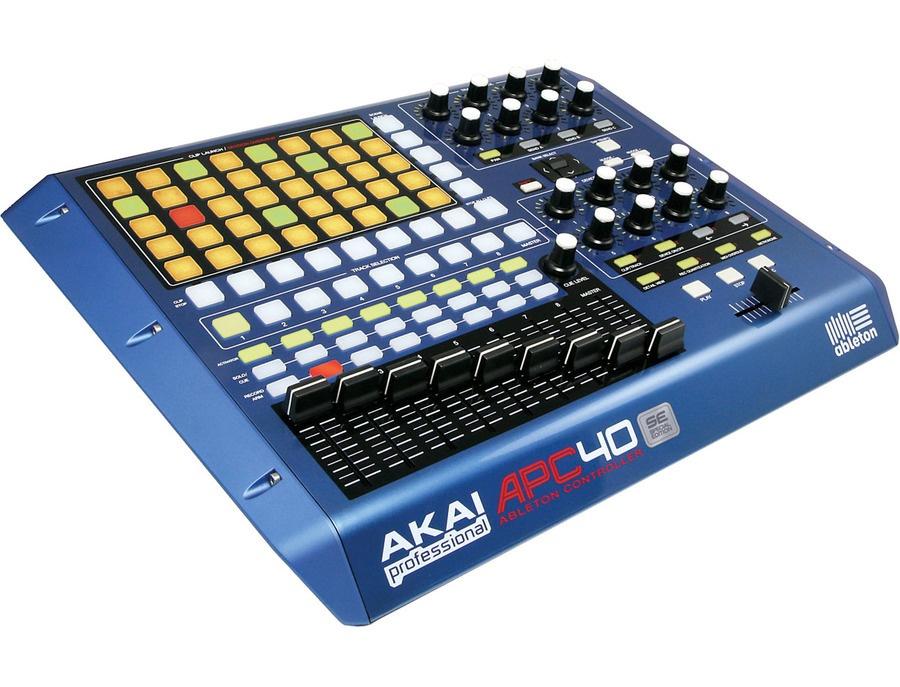 Akai APC40 SE blue limited Edition