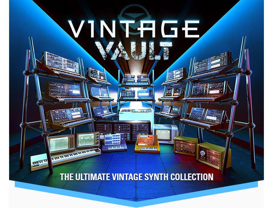 UVI Vintage Vault - The ultimate Vintage Synth Collection