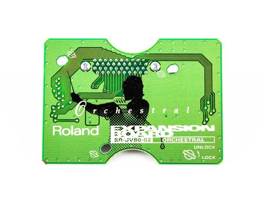 Roland sr jv80 02 orchestral expansion board xl